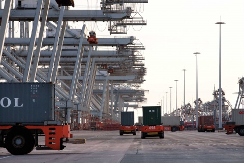 ECT Container terminal
