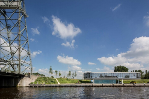BUREAU B+B, Brugbedieningscentrum, Alphen aan de Rijn