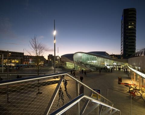 UNStudio Centraal station Arnhem