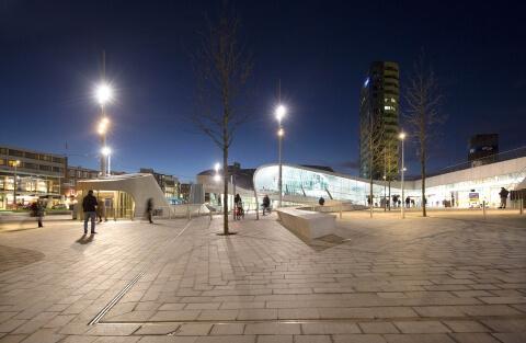 BUREAU B+B, Stationsplein Arnhem Centraal