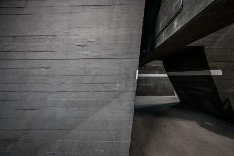 Maastunnel, ventilatiegebouw