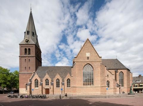Grote kerk Wageningen, van Hoogevest Architecten