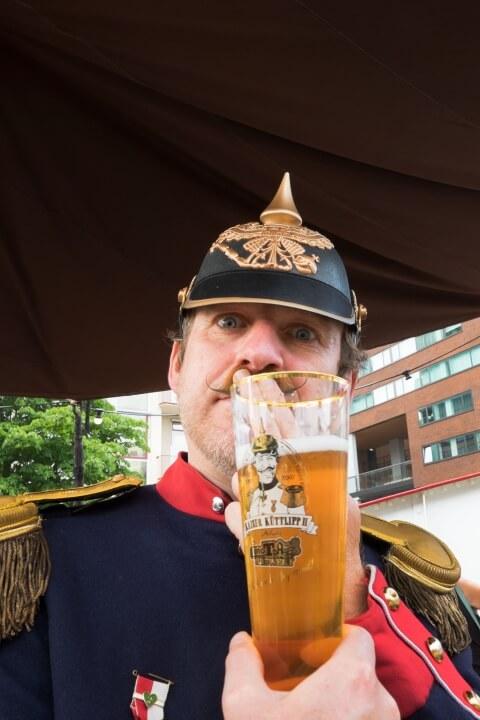 Kaiser Küttlipp bier presentatie