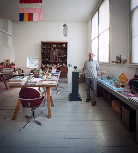 Kunstenaars in SKAR ateliers
