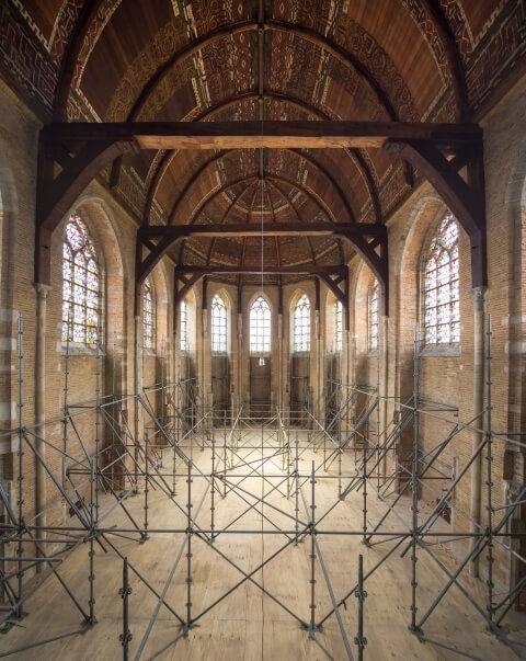 Restauratie nieuwe kerk Delft