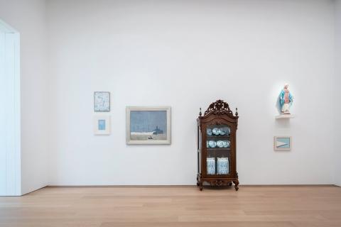'Rhapsody in blue' Museum Voorlinden